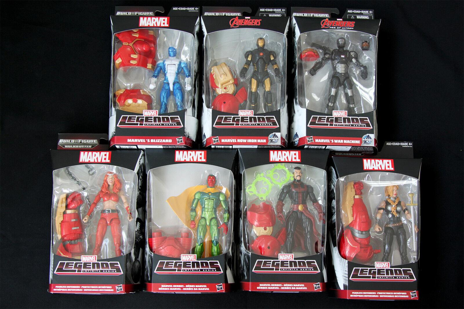 Marvel - legenden unendliche serie  alter ultron hulkbuster satz 7 abb.