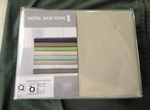 Image Is Loading Hotel New York Cotton Rich Sa Sheet Set