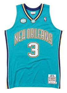 cheaper deccb 0af0f Image is loading Chris-Paul-New-Orleans-Hornets-Mitchell-amp-Ness-
