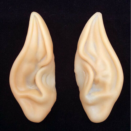 Halloween Costume Silicone Elf Ears Nose Cosplay Party Props Creative Gift