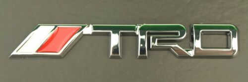 3D Silver Chrome For All Cars truck SUV Decal Rear Trunk Metal Badge Sticker