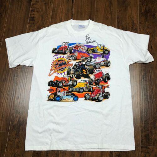 Ron Shuman Racing  Sprint Car Vtg Cotton 1997 Shir