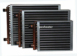 Finned Coil Water To Air Heat Exchanger 1 Quot Sweat