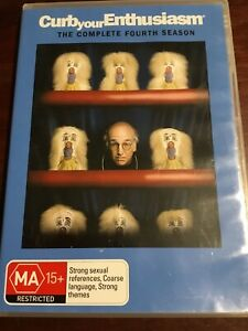 CURB-YOUR-ENTHUSIASM-Complete-Fourth-Season-Good-Condition-2-DVDs-R4-PAL