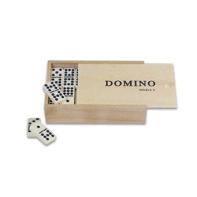 9er Domino Nel Riquadro In Legno-mostra Il Titolo Originale