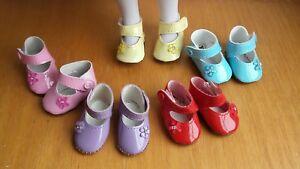 Chaussures babies verni poupée little darling minouche Mini Maru Ma Moulin Roty