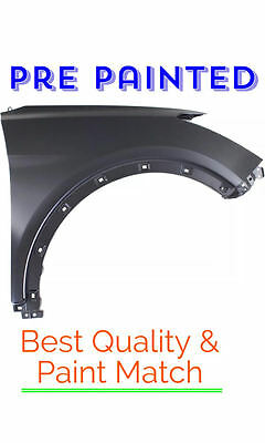 New PRE PAINTED Driver LH Fender for 2014-2018 Nissan Rogue  w Free TouchUp
