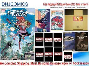 AMAZING SPIDER-MAN #74 Ten cover Set  NM Marvel Comics 2021 PRESALE 09/22