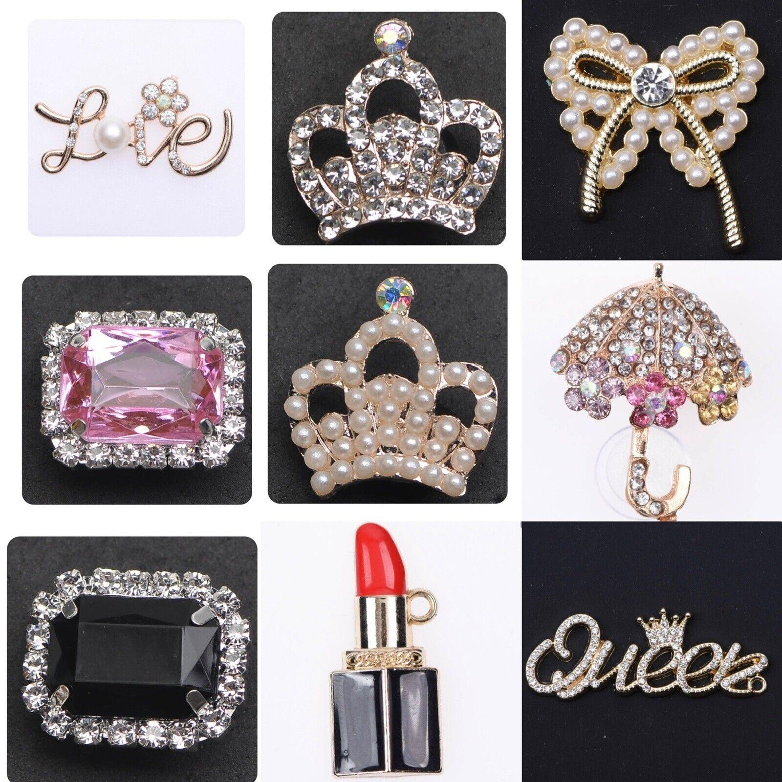 2, 4, 6, 8 Or 10 Croc Shoe Charm Badges Letters Accessories Each