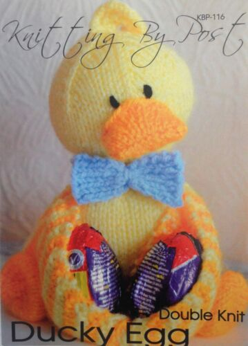 Knitting By Post Ducky Egg Knitting Toy Pattern