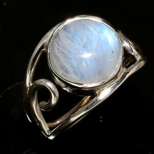 Rainbow-Moonstone-Ring-Solid-925-Sterling-Silver-Ring-Handmade-Ring-Size-All-sr2