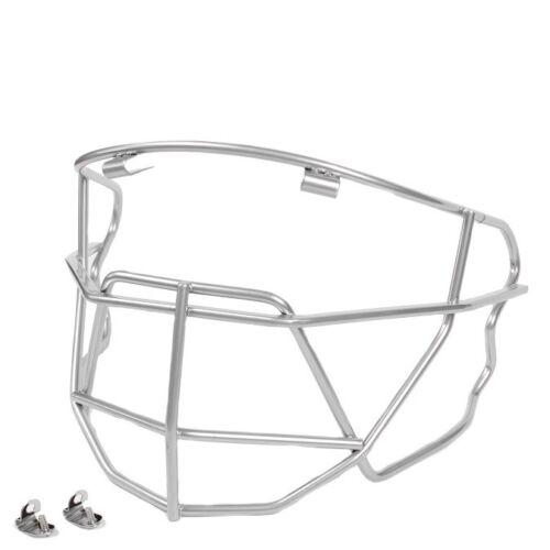 Under Armour UA Silver Baseball Face Guard Batting Helmet Face Mask