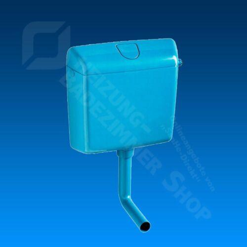 Wisa Aufputz Spülkasten 1070 in bermudablau blau