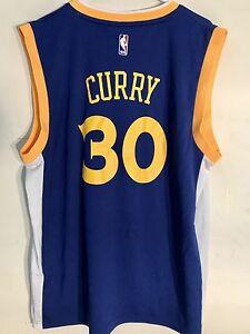 newest collection 73a3d 6b8e5 Adidas NBA Jersey Golden State Warriors Stephen Curry Blue ...