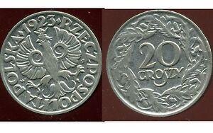 POLOGNE-20-groszy-1923