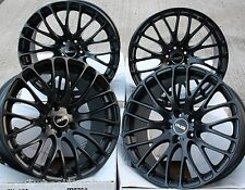 "19"" BLK 170 ALLOY WHEELS FIT VW CADDY CC EOS GOLF PASSAT SCIROCCO SHARAN"