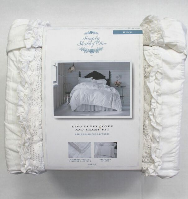 Fine Simply Shabby Chic Duvet Cover Shams White Lace King 3 Pc Set Home Remodeling Inspirations Basidirectenergyitoicom