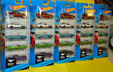 """Hot Wheels 2014 50 Years - """"Mustangs 50th Anniversary"""" - (5-Pack)"""