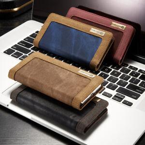 Fuer-Galaxy-S7-EDGE-Case-Etui-Cover-Schutzhuelle-Jeans-Leder-Synthetisch-Folien