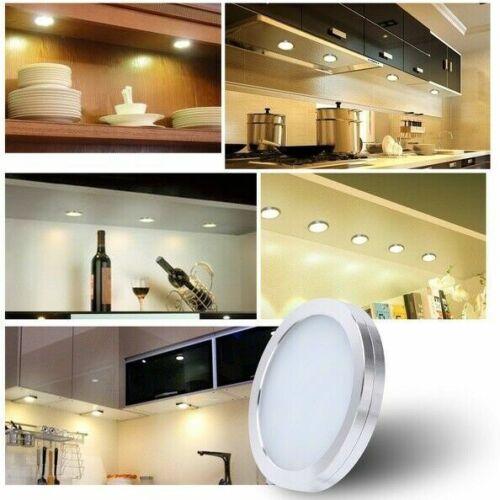 3//6X Under Cabinet Lighting Kit LED Light Kitchen Counter Hardwired Warm Cool US