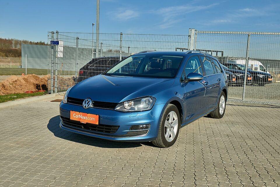 VW Golf VII 1,6 TDi 110 Highl. Vari. DSG BMT Diesel aut.