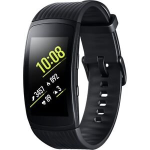 Samsung R365 Gear Fit 2 Pro Smartwatch Black Large Armbanduhr Fitnesstracker