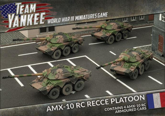 Team Yankee - Amx-10 Rc Recce Platoon - NATO - TFBX05