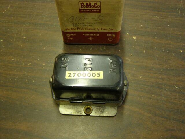 Nos Oem Ford 1956 1960 Fairlane Voltage Regulator 1957 1958 1959