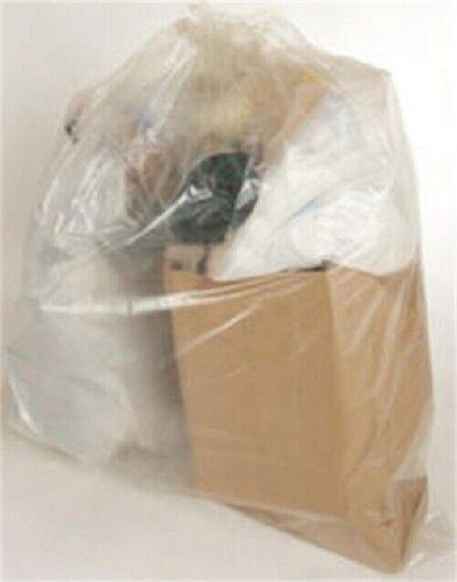 PETOSKEY TRASH BAGS, CLEAR, 55 GALLON, ROLL 100, FG-P9934-42