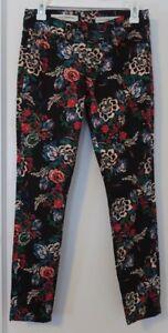 Skinny Anthropologie Jeans Pilcro Letterpress Floral Midrise Og Nwot 25 wrwRq1Z