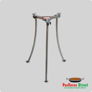 Fully Adjustable Folding Paella Burner Tripod Stand Ebay