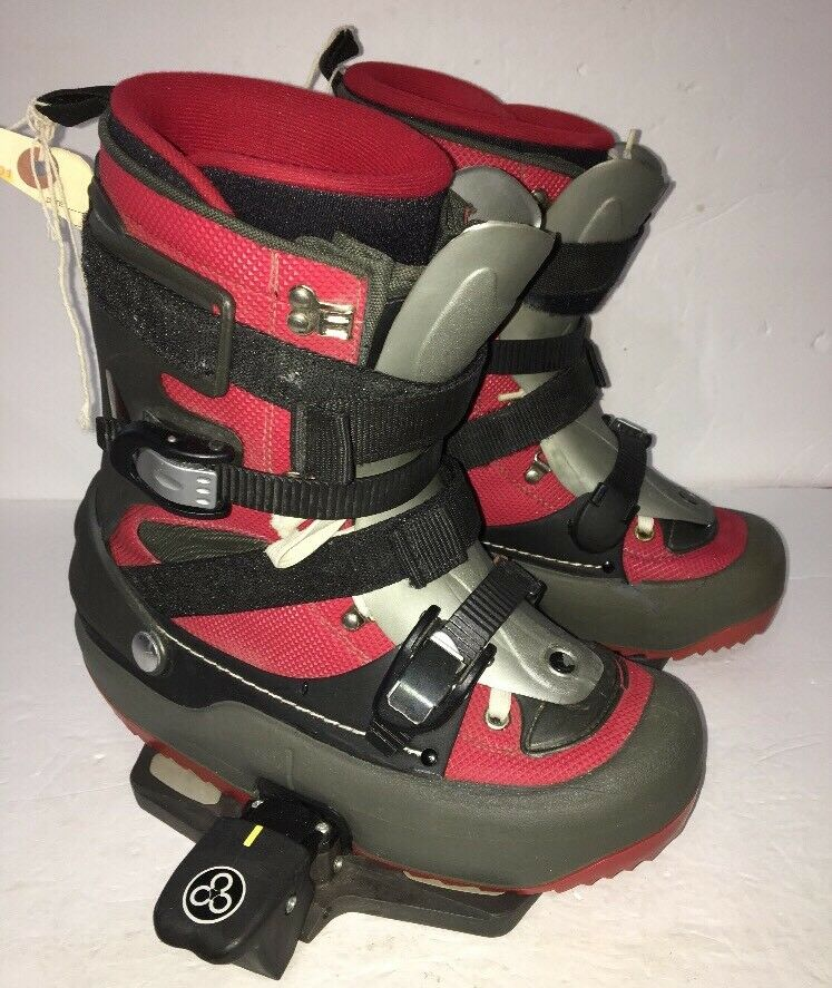 AUTHENTIC GERMANY QUALITY Men's Ski Boots SIZE 8 1 2-9 US-RARE VINTAGE-SHIP N 24