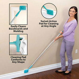 Baseboard-Buddy-Walk-Glide-Extendable-Microfiber-Dust-Cleaning-Tool-UK-SELLER