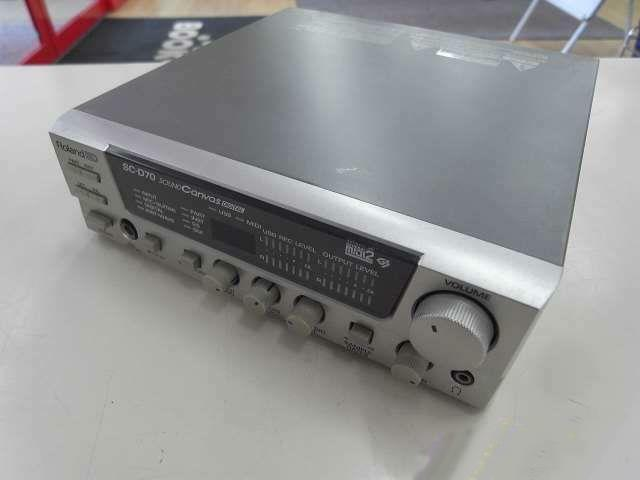 Roland SC-D70 Sound Canvas Sound Module Tested Working Used