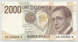 REPUBBLICA-ITALIANA-2000-Lire-034-Marconi-034-serie-AA-A-FDS