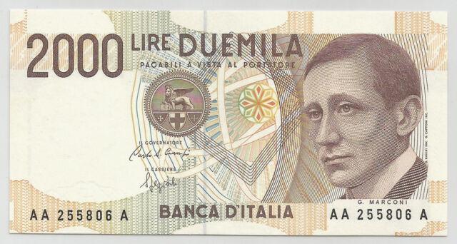 REPUBBLICA ITALIANA - 2000 Lire