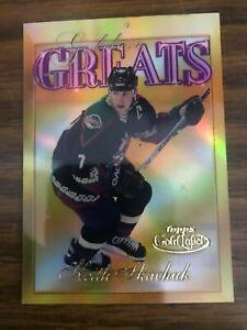 2000-01 Topps Gold Label Golden Greats #GG9 Keith Tkachuk Phoenix Coyotes  NrMt
