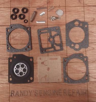 """COMPLETE CARB KIT WALBRO,NEW /""""US Seller/"""" 2165 CHAINSAW"""