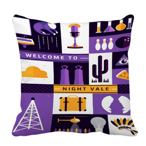 New Welcome To Night Vale Custom Decorative Throw Pillow Case Sofa Cushion Cover