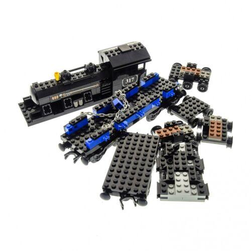 1 x Lego System Teile Set Modell My Own Train 10205 Lokomotive Sticker /'317/' Zug