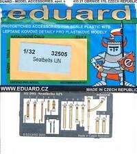 eduard Seatbelts Sitz-Gurte IJN Imperial Japanese Navy Ätzteile 1:32 Bausatz kit
