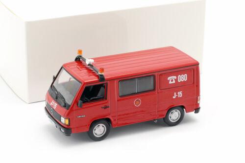 Mercedes-Benz MB180 Pompier Saragossa Rouge 1:43 Altaya