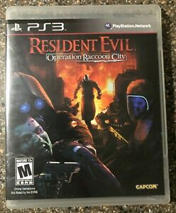 Resident-Evil-Operation-Raccoon-City-PlayStation-3-PS3-Complete-CIB-Authentic