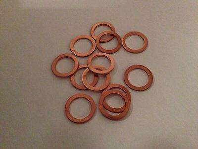 25 Stück Kupferringe Dichtringe 5x9x1 mm M 5