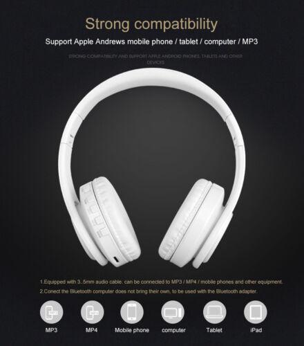 Mpow Wireless Bluetooth Headphones Foldable Stereo Earphones Super Bass Headset