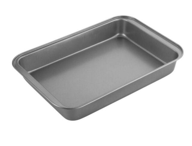 1x Small Roasting Pan 28 x 23 x 5cm 1-Coat Non-Stick Dish Cookware Bakeware