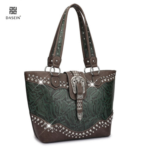 Dasein Women Handbags Faux Leather Shoulder Bag Tote Briefcase Large Purses