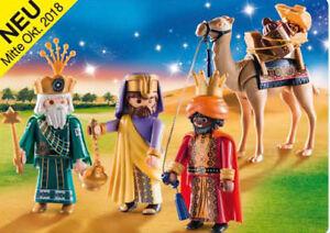 Playmobil-Belen-REYES-MAGOS-9497-Christmas-NOEL-NOVEDAD-REYES-MAGOS-9497