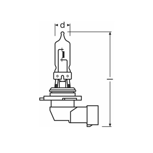 100w Clear Standard Halogen Xenon HID Front Fog Lamp Light Bulbs Pair