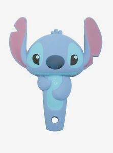 Loungefly-Disney-Lilo-amp-Stitch-3D-Molded-Character-Stitch-Mini-Hair-Brush-New